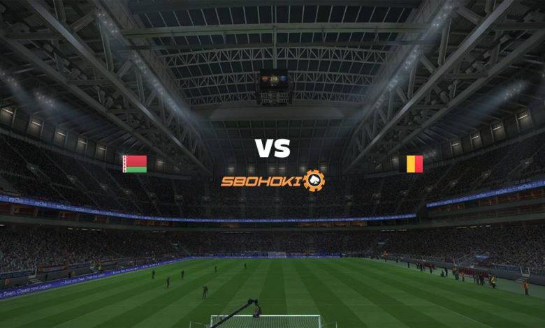 Live Streaming Belarus vs Belgium 8 September 2021 1