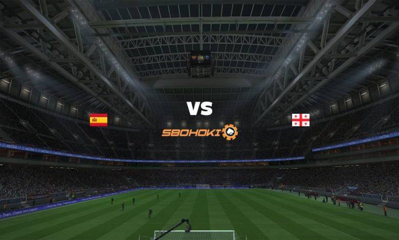 Live Streaming Spain vs Georgia 5 September 2021 1