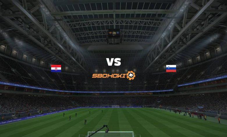 Live Streaming Croatia vs Slovenia 7 September 2021 1