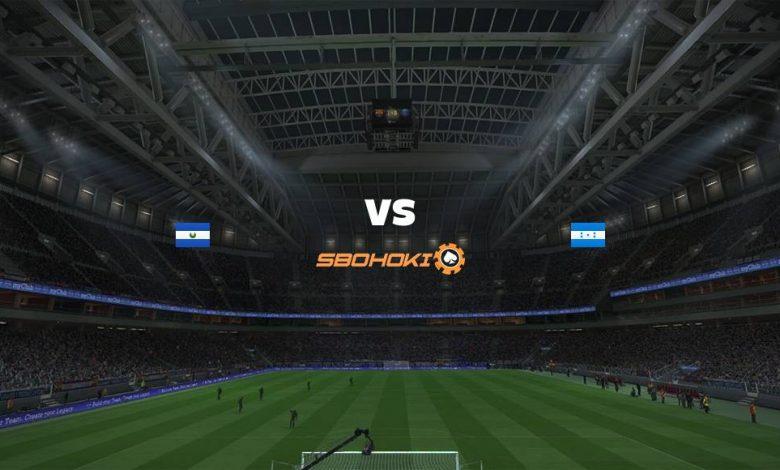 Live Streaming El Salvador vs Honduras 5 September 2021 1