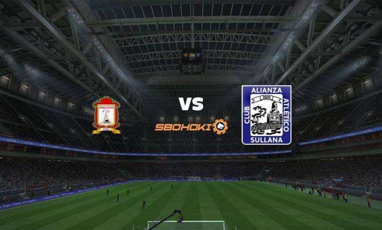 Live Streaming Ayacucho FC vs Alianza Atltico 21 September 2021 1