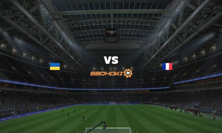 Live Streaming Ukraine vs France 4 September 2021 1