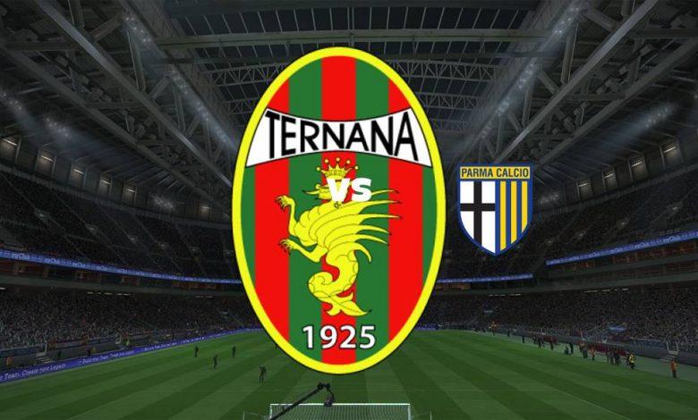 Live Streaming Ternana vs Parma 22 September 2021 1