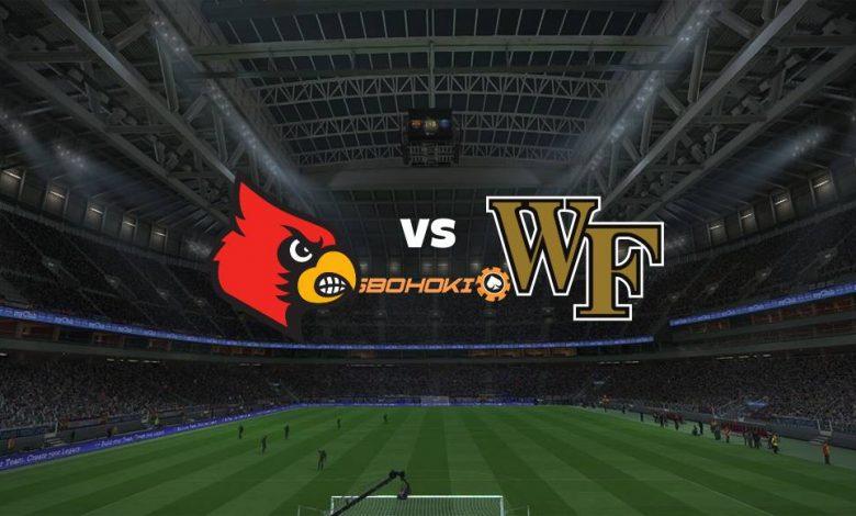 Live Streaming Louisville vs Wake Forest 11 September 2021 1