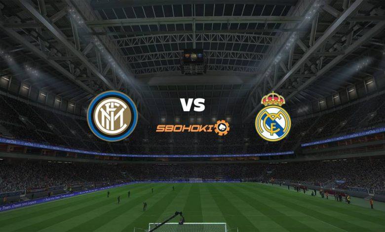 Live Streaming Inter Milan vs Real Madrid 15 September 2021 1