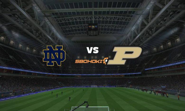 Live Streaming Notre Dame Fighting Irish vs Purdue 2 September 2021 1