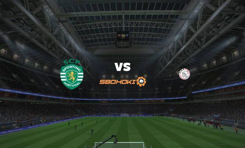 Live Streaming Sporting CP vs Ajax Amsterdam 15 September 2021 1