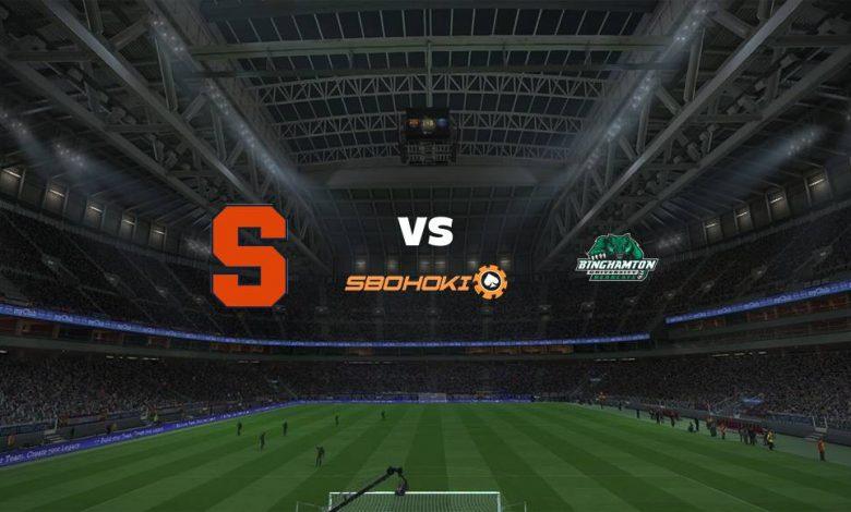 Live Streaming Syracuse Orange vs Binghamton 2 September 2021 1