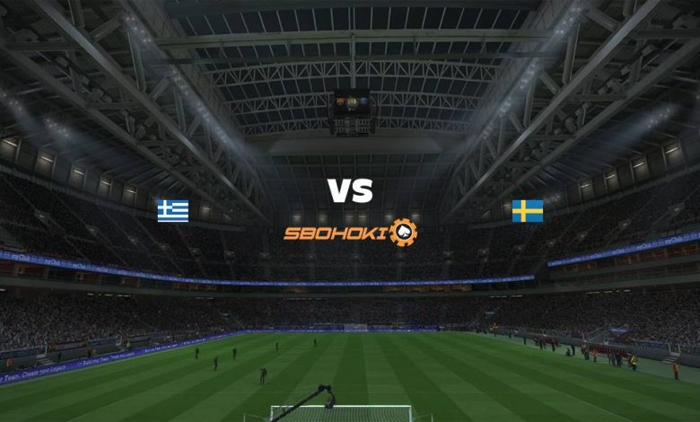Live Streaming Greece vs Sweden 8 September 2021 1