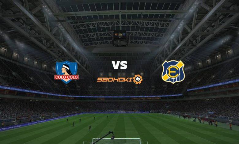 Live Streaming Colo Colo vs Everton CD 14 September 2021 1