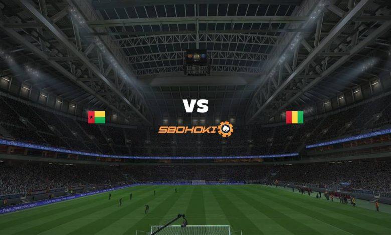 Live Streaming Guinea-Bissau vs Guinea 1 September 2021 1