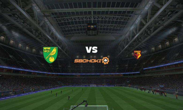 Live Streaming Norwich City vs Watford 18 September 2021 1