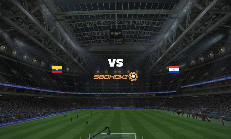 Live Streaming Ecuador vs Paraguay 2 September 2021 1