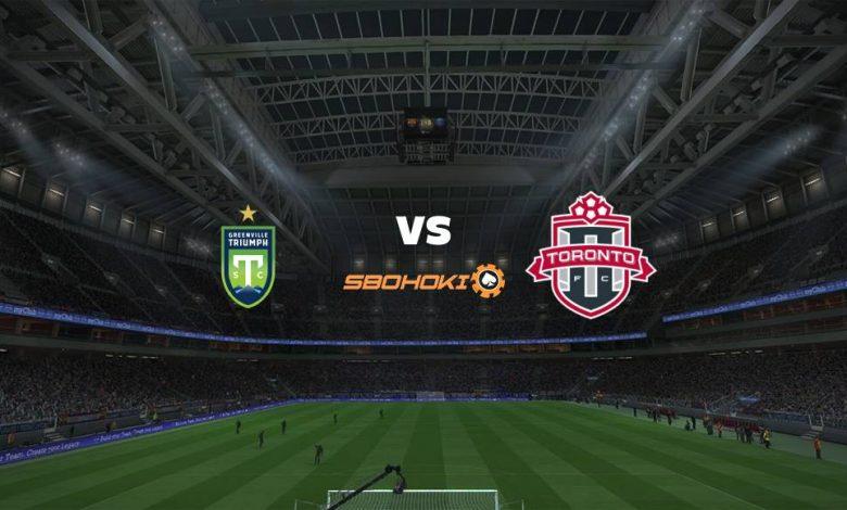 Live Streaming Greenville Triumph vs Toronto FC II 3 September 2021 1